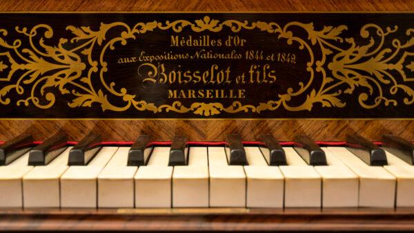 Boisselot et Fils Marsiglia 1855ca